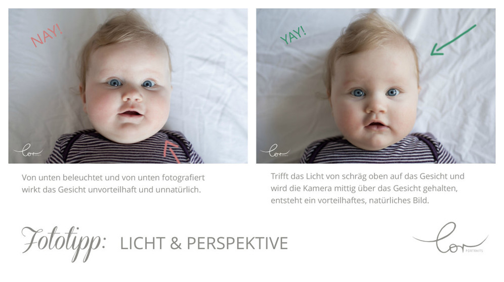 Fototipp Licht mit Text