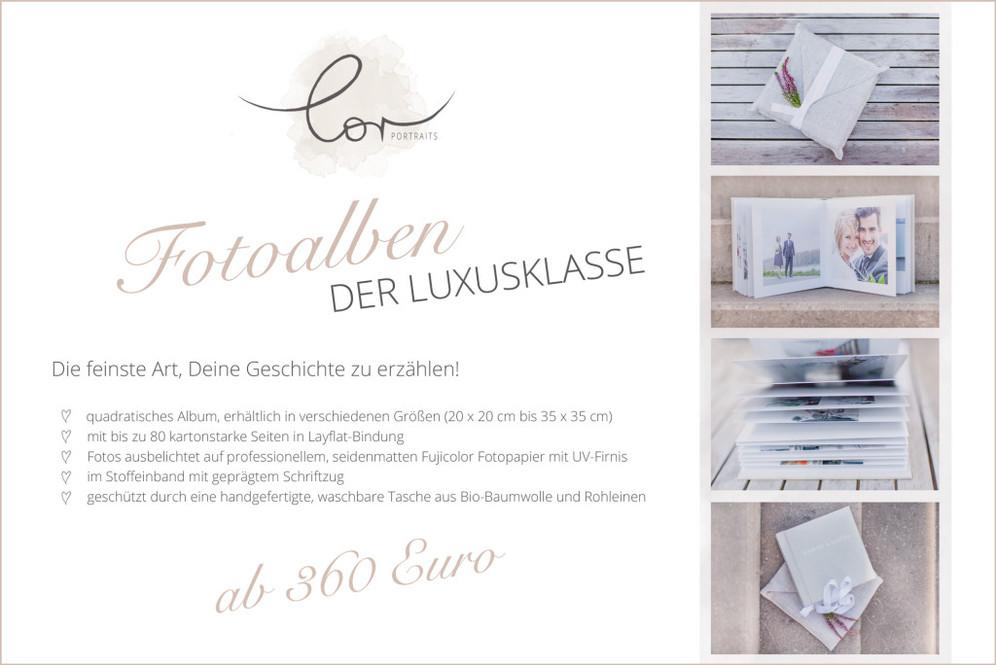 Fotoalbum Fotograf Wuppertal Essen Düsseldorf Luxus Leineneinband
